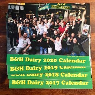 B&H calendars (front)