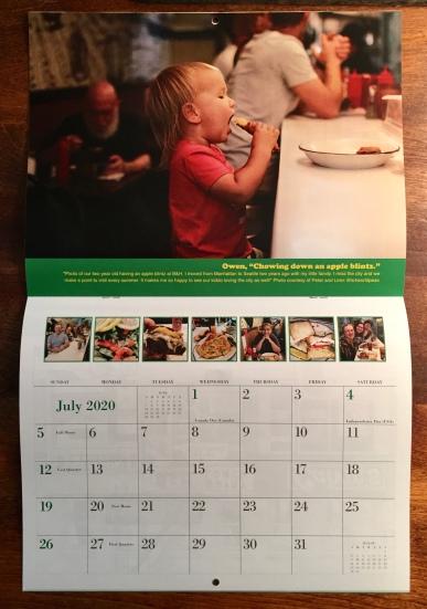 B&H 2020 calendar (June)