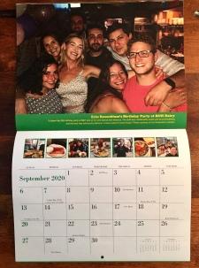 B&H 2020 calendar (September)