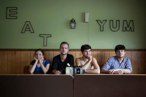 """Feral"" leads: (l-r) Leah Beth Bolton, Chase Brother, Seth Daniel, and Jordan Nichols • photo by Breezy Lucia"