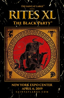 Rites XL: The Black Party® 2019 promo 2