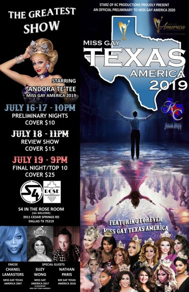Miss Gay Texas America 2020