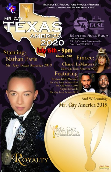 Mr. Gay Texas America 2020