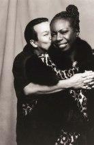 With Nina Simone, 1993. (© Carol Friedman)