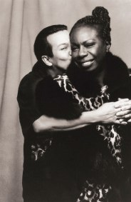With Nina Simone, 1993. (© Carol Friedman)