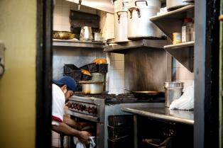 Bernardo in the B&H kitchen. Photo by Gabi Porter @gabiporter